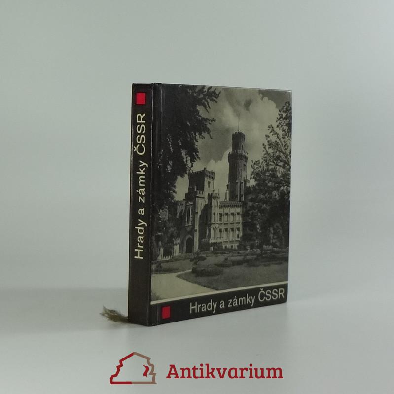 antikvární kniha Hrady a zámky ČSSR, 1967