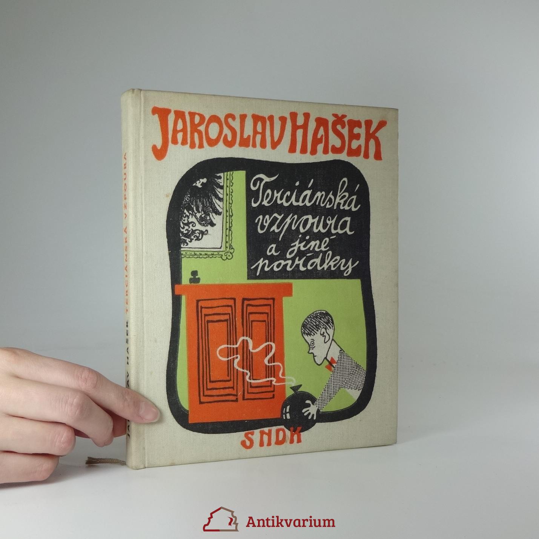 antikvární kniha Terciánská vzpoura a jiné povídky, 1960