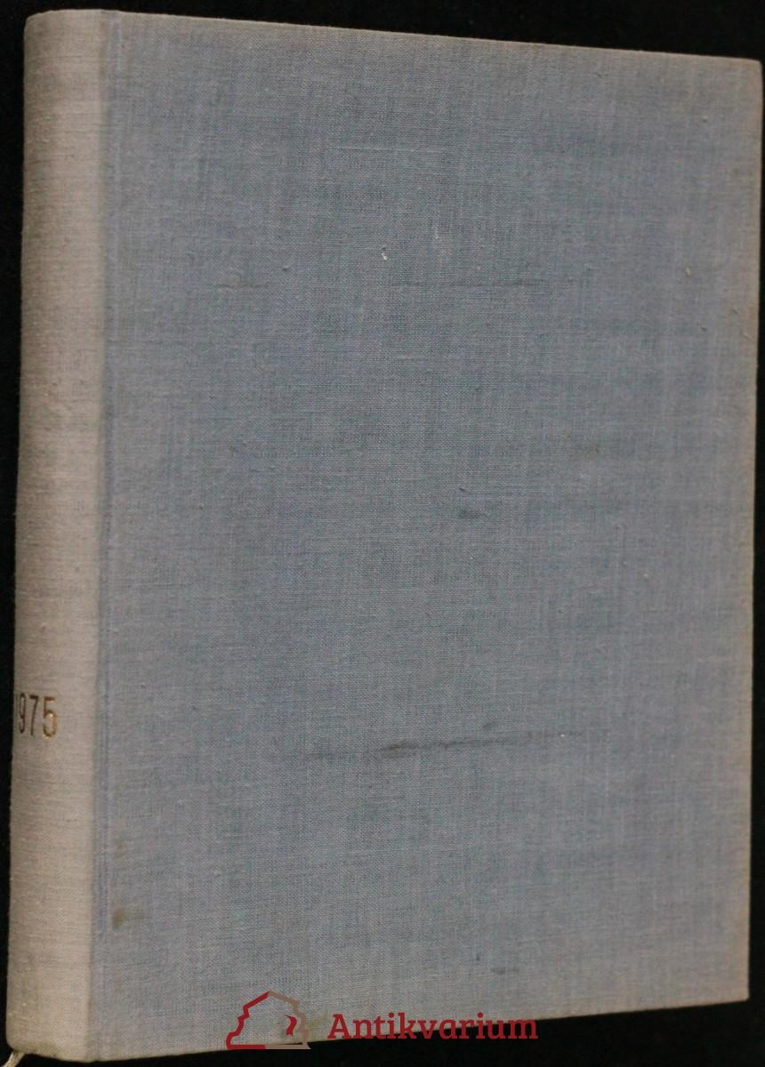 antikvární kniha Československá fotografie ročník XXVI. 1975, 1975