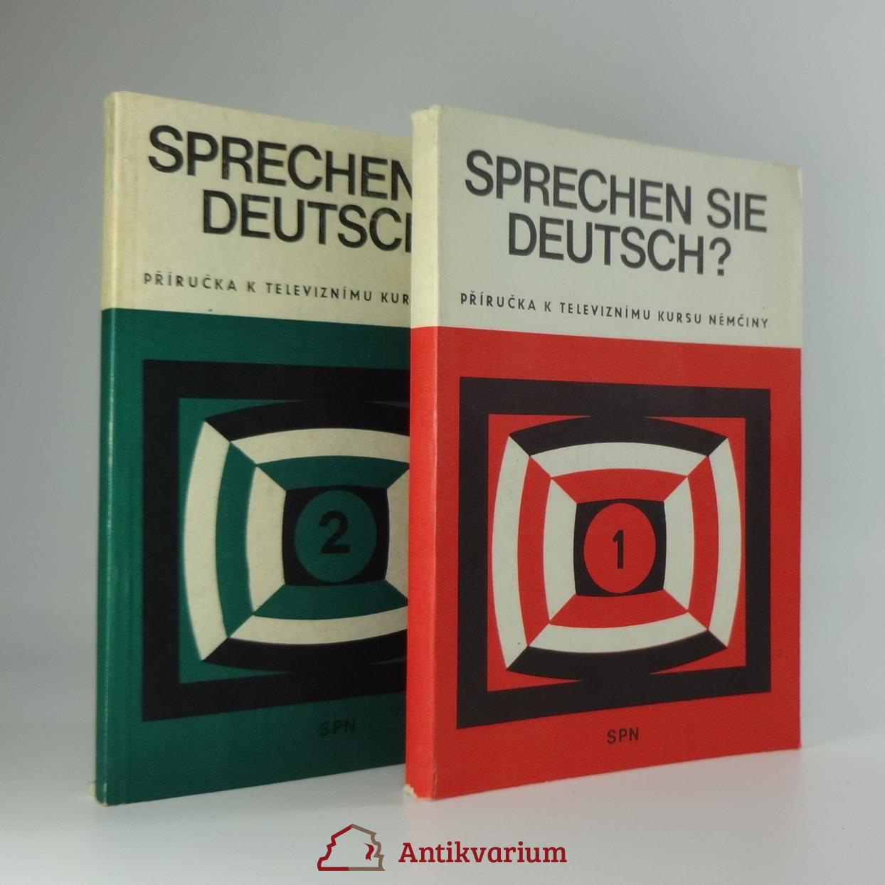 antikvární kniha Sprechen Sie Deutsch? (2 svazky), 1981