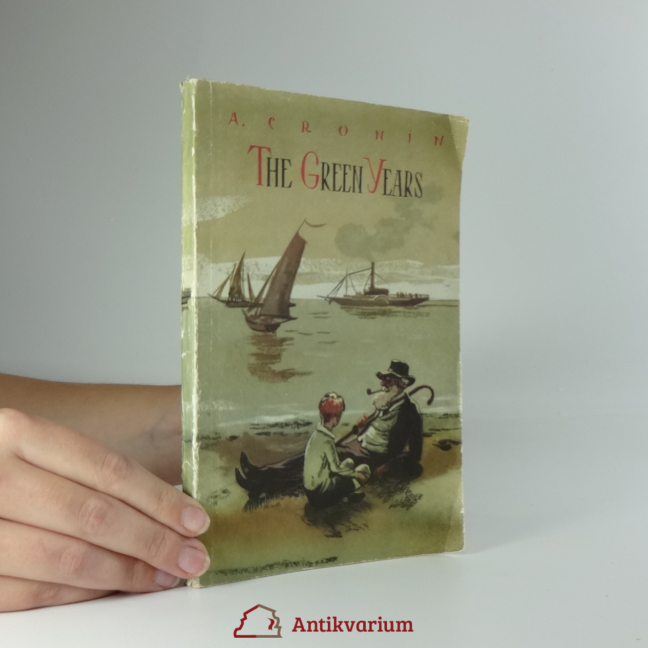 antikvární kniha The green years, 1959