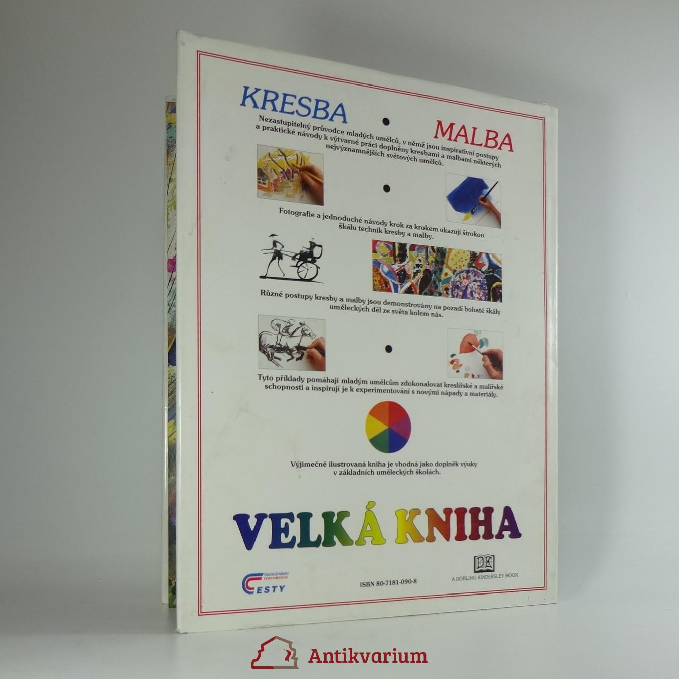 Weltonova Velka Kniha Kresba A Malba 1996 Antikvariat Praha