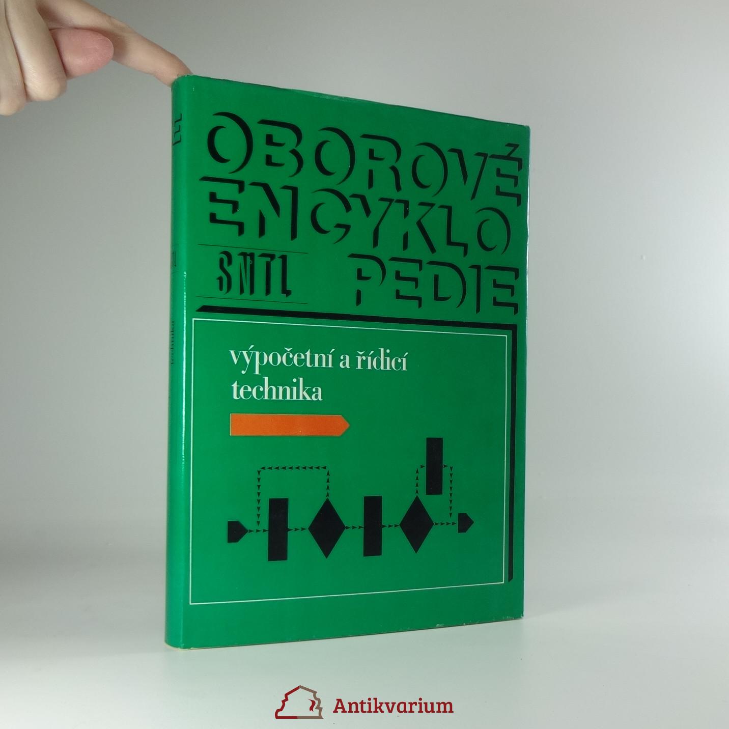 antikvární kniha Oborové encyklopedie - výpočetní a řídicí technika, 1982
