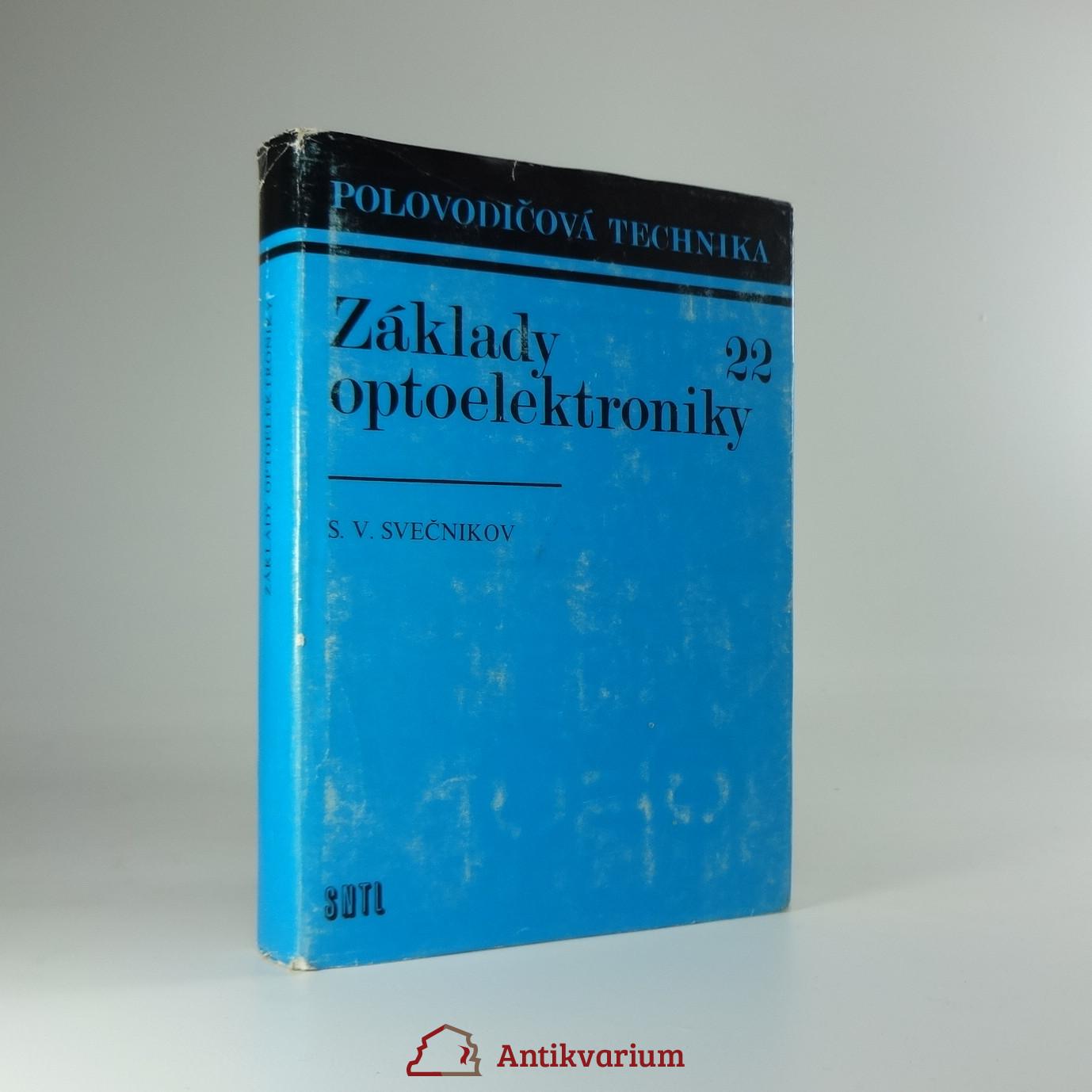 antikvární kniha Základy optoelektroniky, 1975