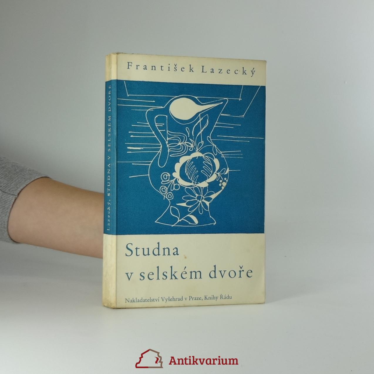 antikvární kniha Studna v selském dvoře, 1939