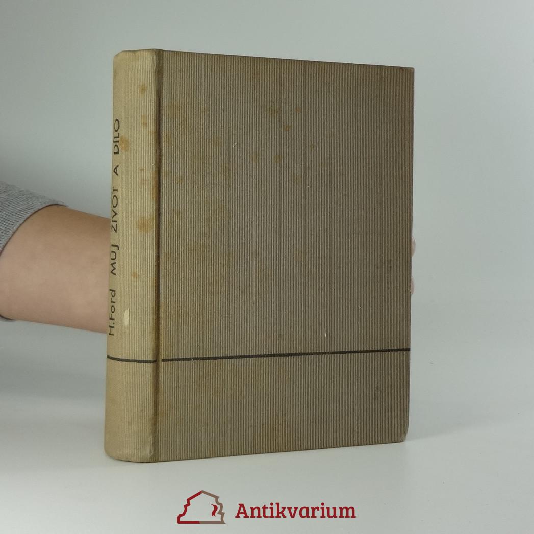 antikvární kniha Můj život a dílo, 1924