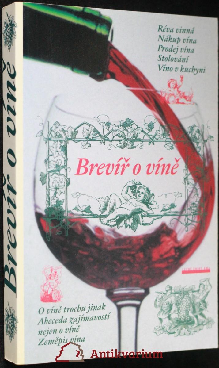antikvární kniha  Brevíř o víně, 2001
