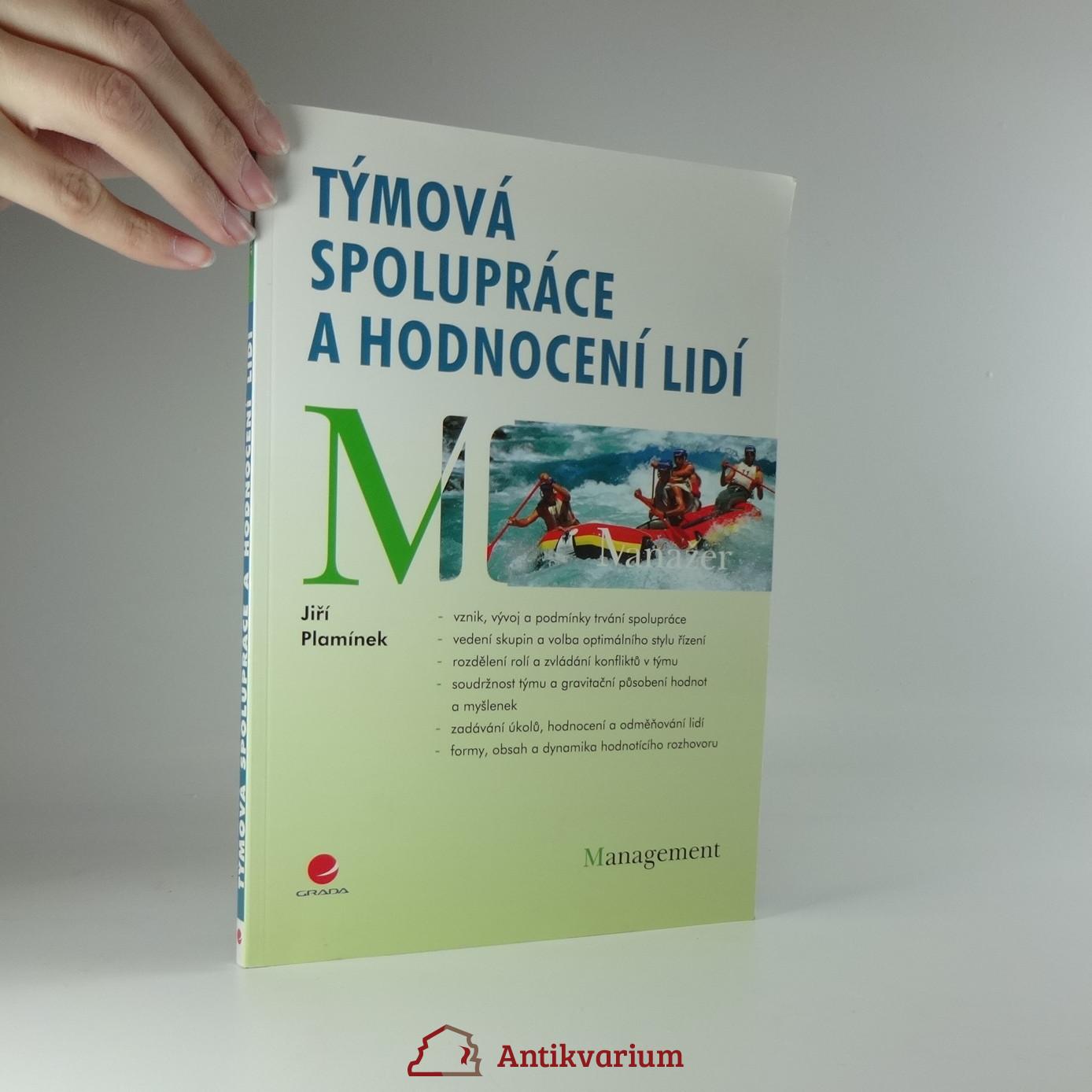 antikvární kniha Týmová spolupráce a hodnocení lidí, 2009