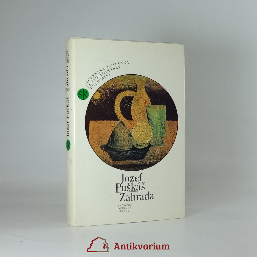 antikvární kniha Zahrada, 1986