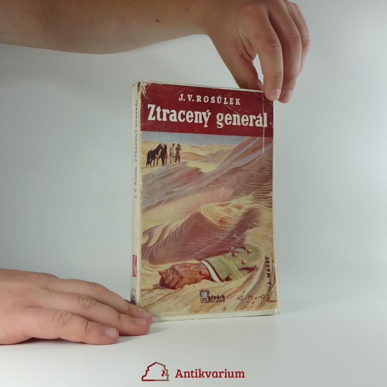 antikvární kniha Ztracený generál , 1940