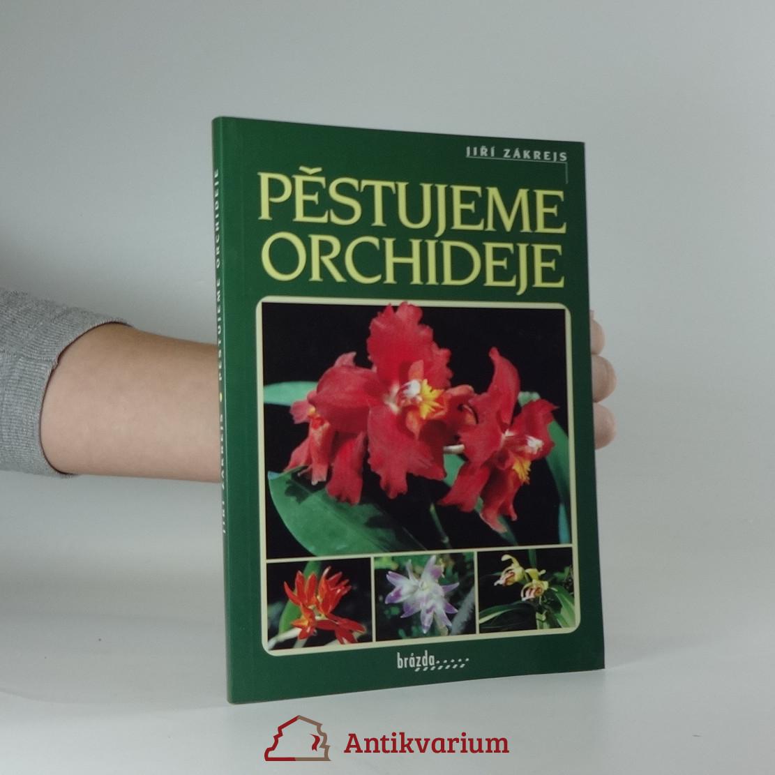 antikvární kniha Pěstujeme orchideje, 2000