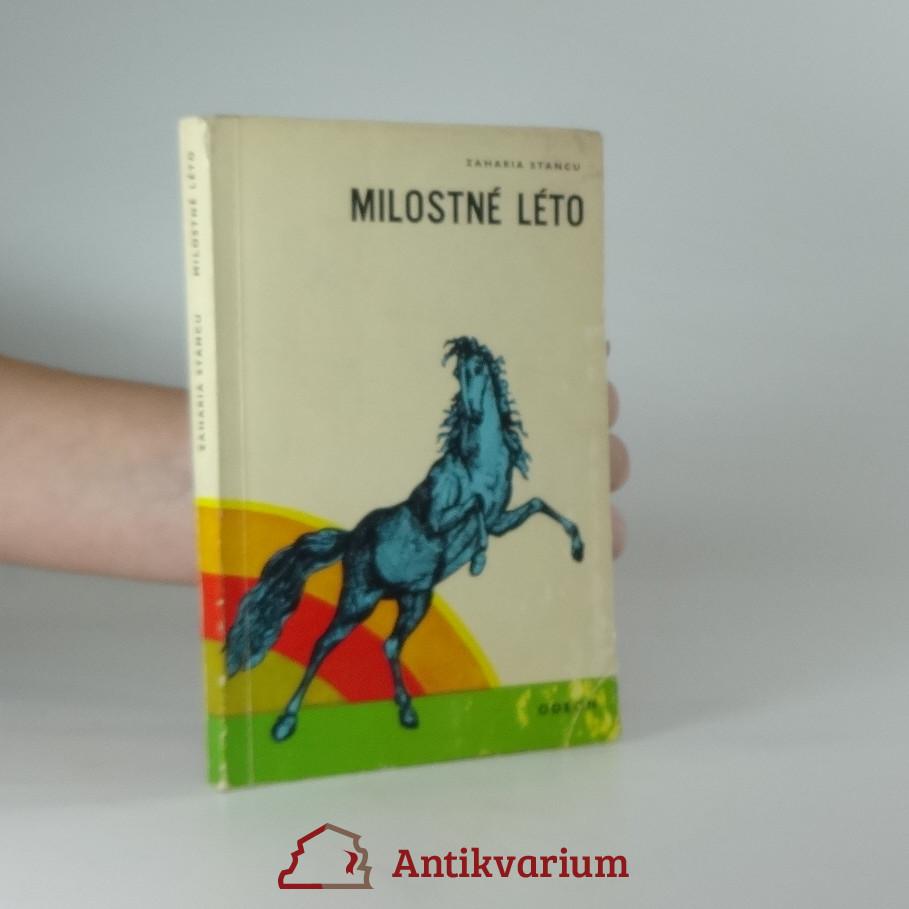 antikvární kniha Milostné léto, 1972