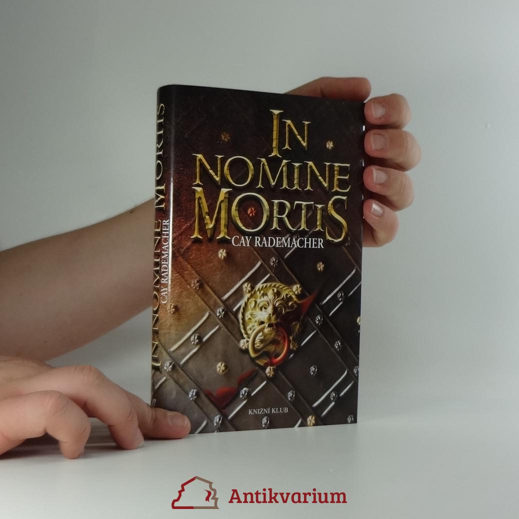 antikvární kniha In nomine mortis, 2009