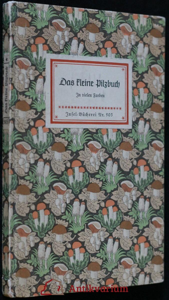 antikvární kniha Das kleine Pilzbuch, 1956