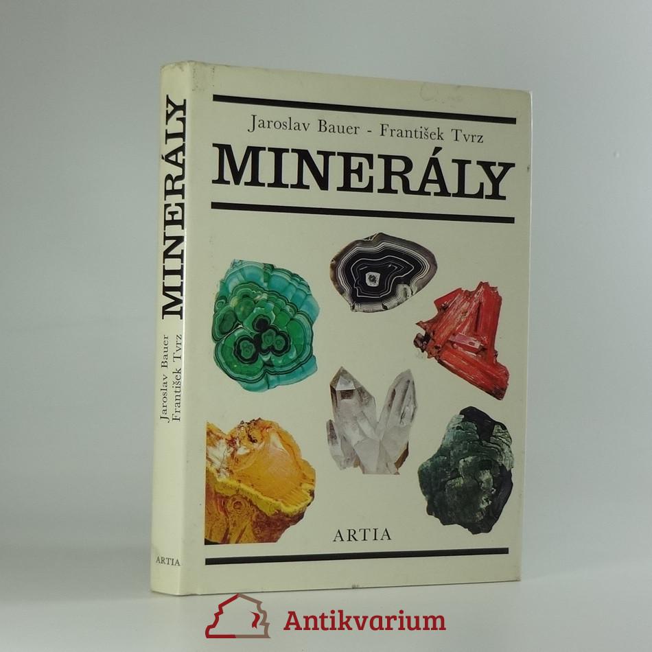 antikvární kniha Minerály, 1988