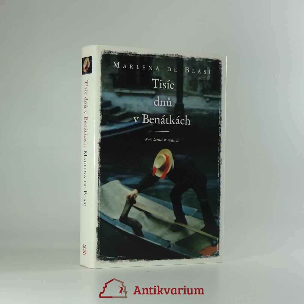 antikvární kniha Tisíc dnů v Benátkách: nečekaná romance, 2004