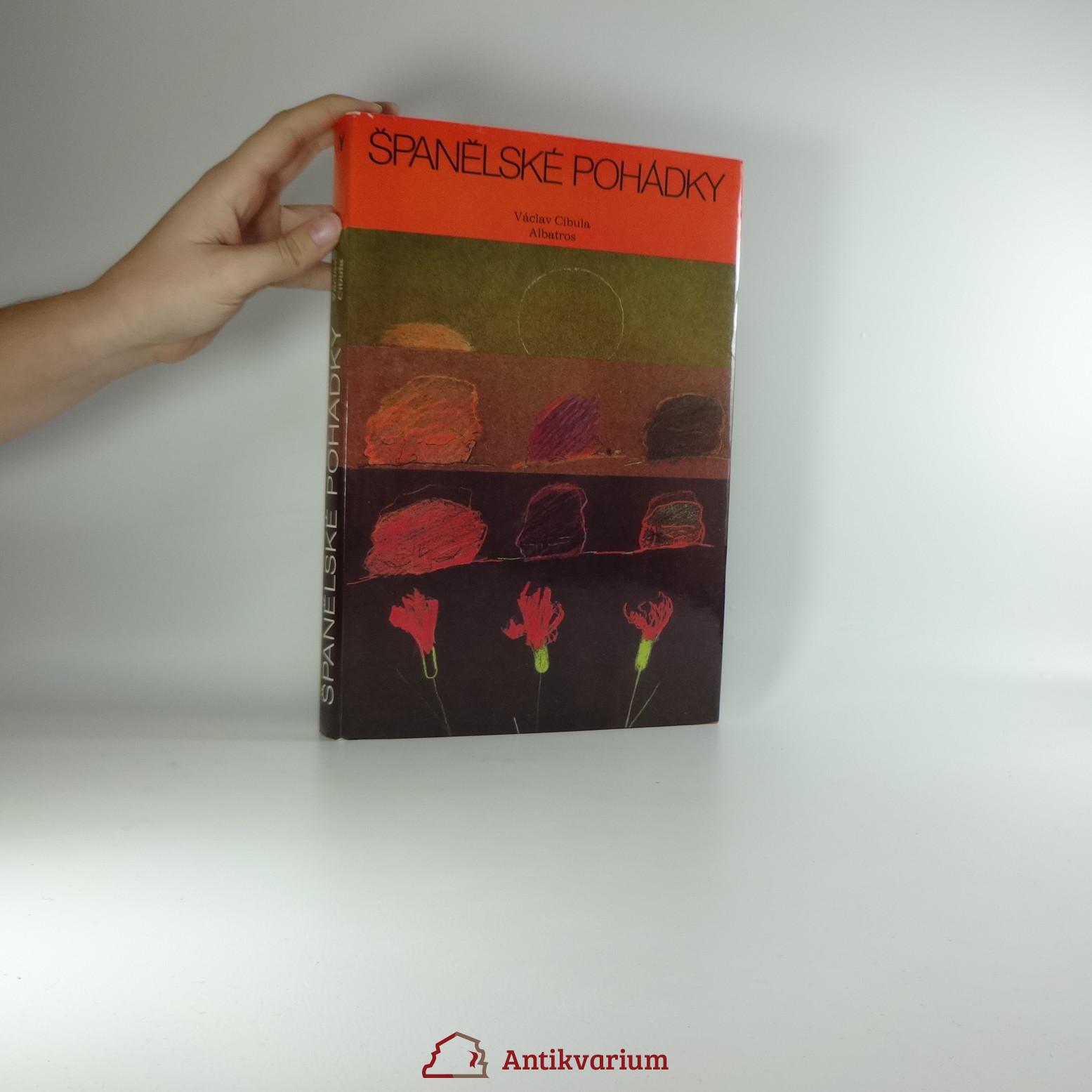 antikvární kniha Španělské pohádky, 1984