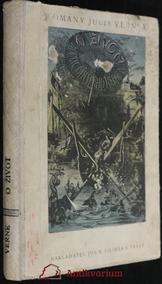 antikvární kniha O život, 1926