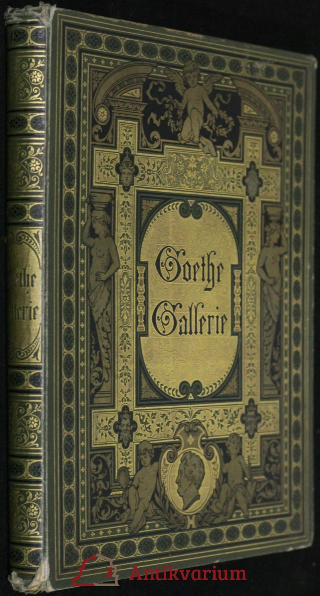 antikvární kniha Goethe Gallerie, neuveden
