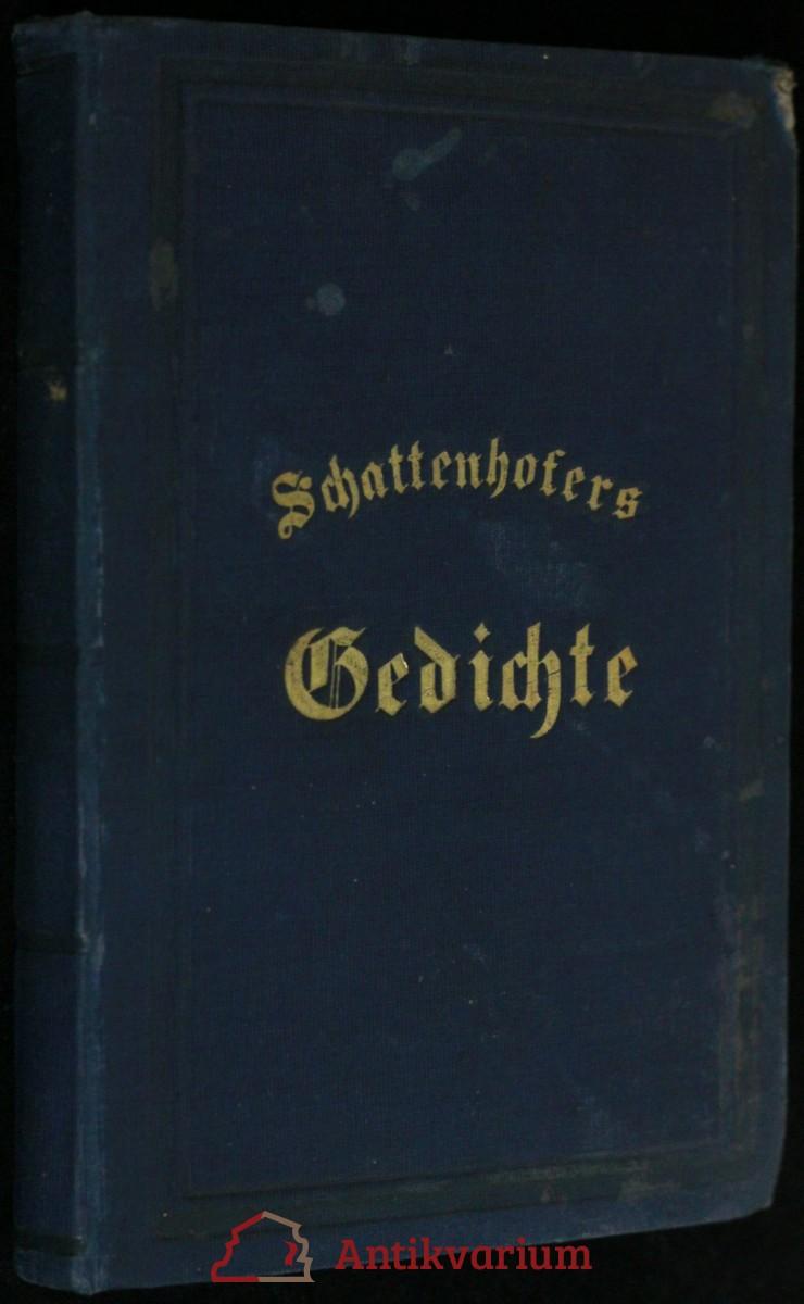 antikvární kniha  Gedichte, 1865