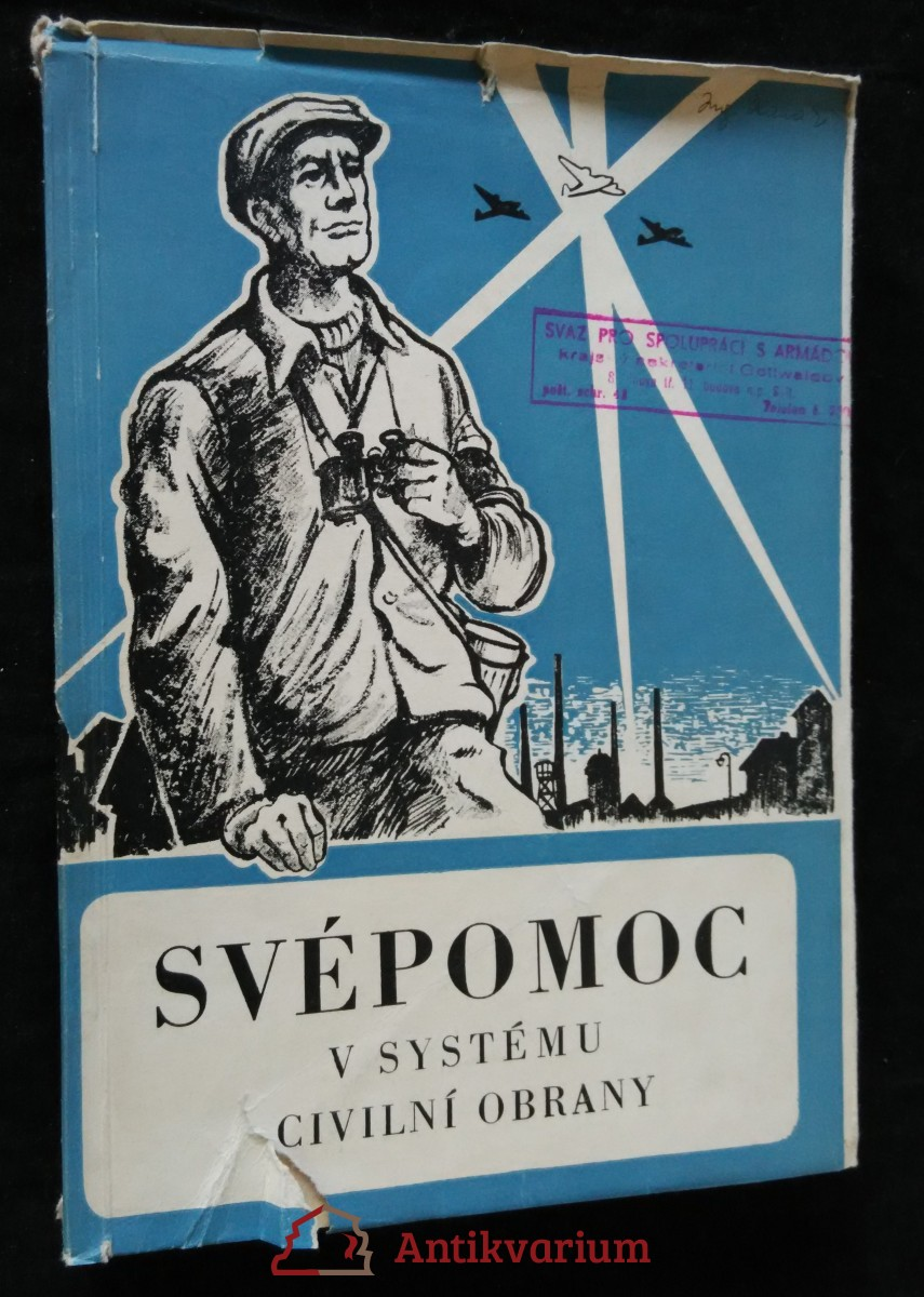 antikvární kniha Svépomoc v systému civilní obrany, 1952