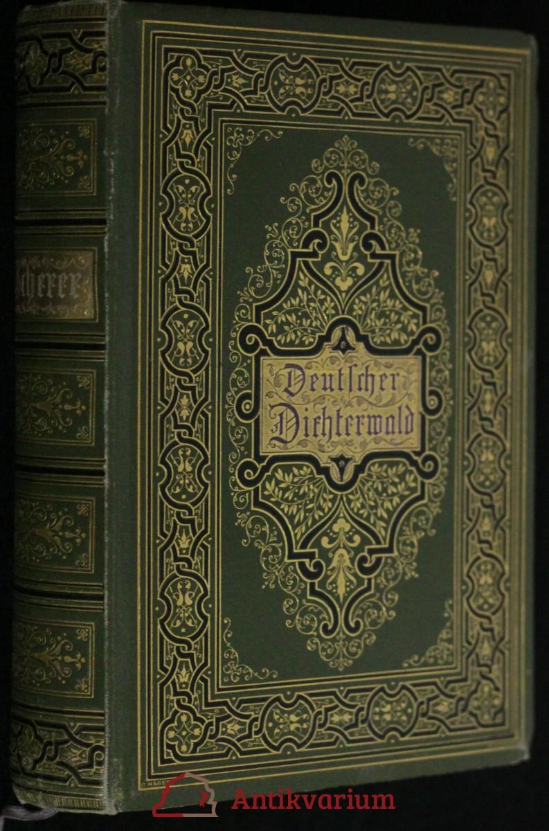 antikvární kniha Deutscher Dichterwald, neuveden