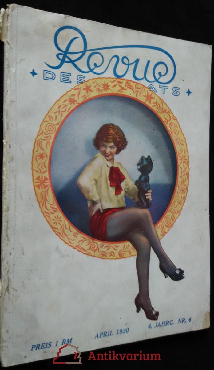 antikvární kniha Revue - nr.6 - april 1930, 1930