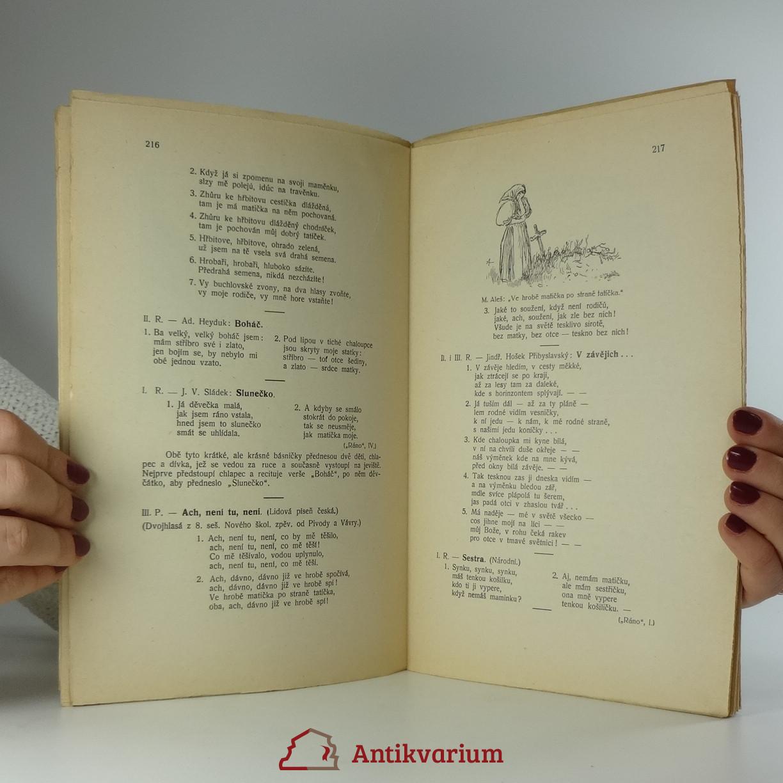 c92a939c0 Šašek: Školní besedy a slavnosti. Dílo LX. Antikvariát Praha