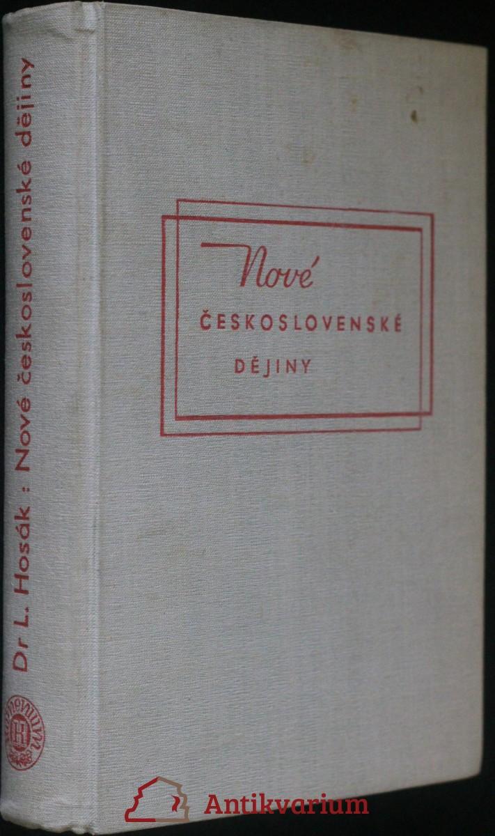 antikvární kniha Nové československé dějiny, 1947