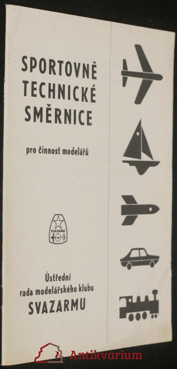 antikvární kniha Sportovně technické směrnice pro činnost modelářů , neuvedeno