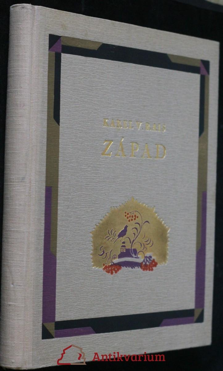 antikvární kniha Západ : pohorský obraz, 1940