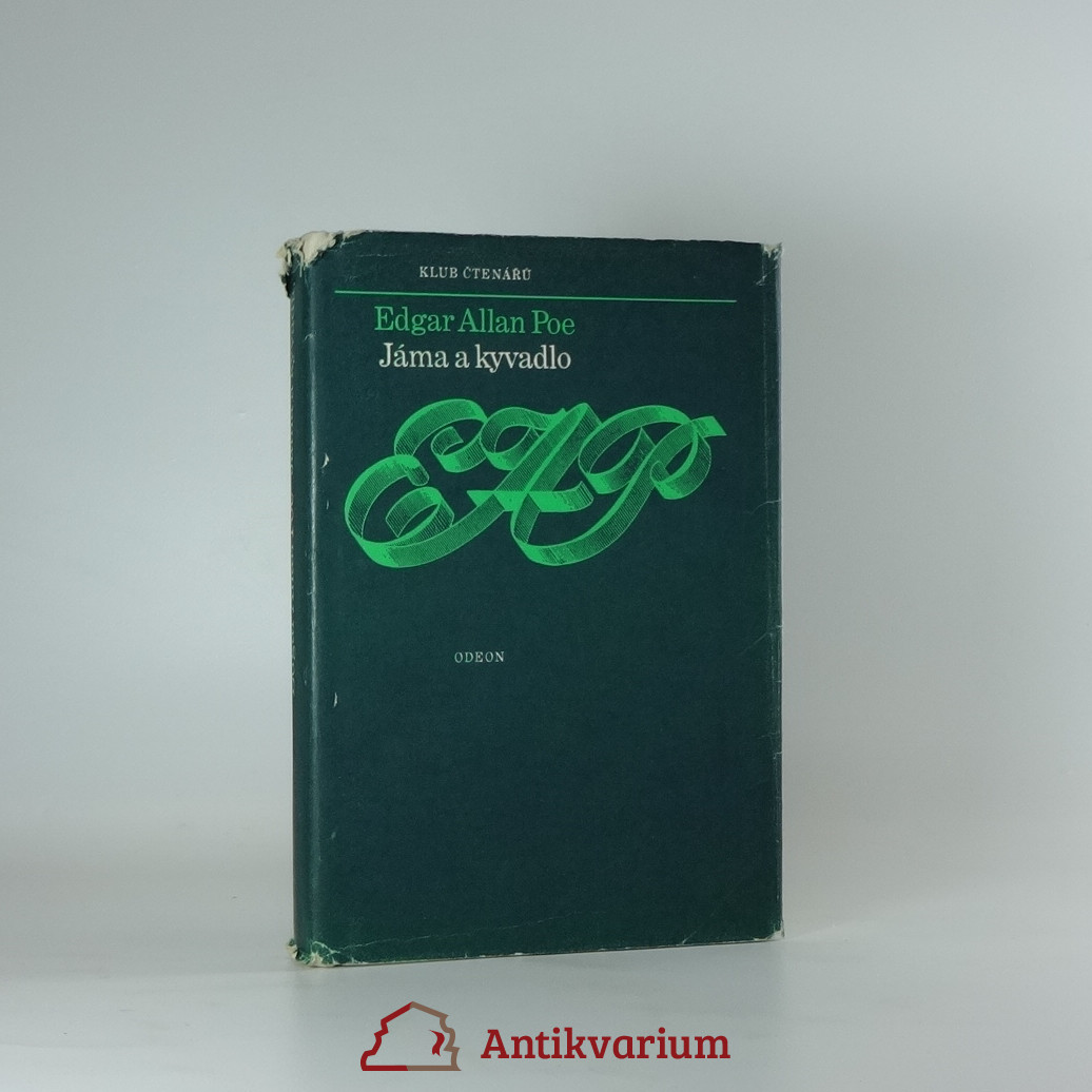 antikvární kniha Jáma a kyvadlo , 1978