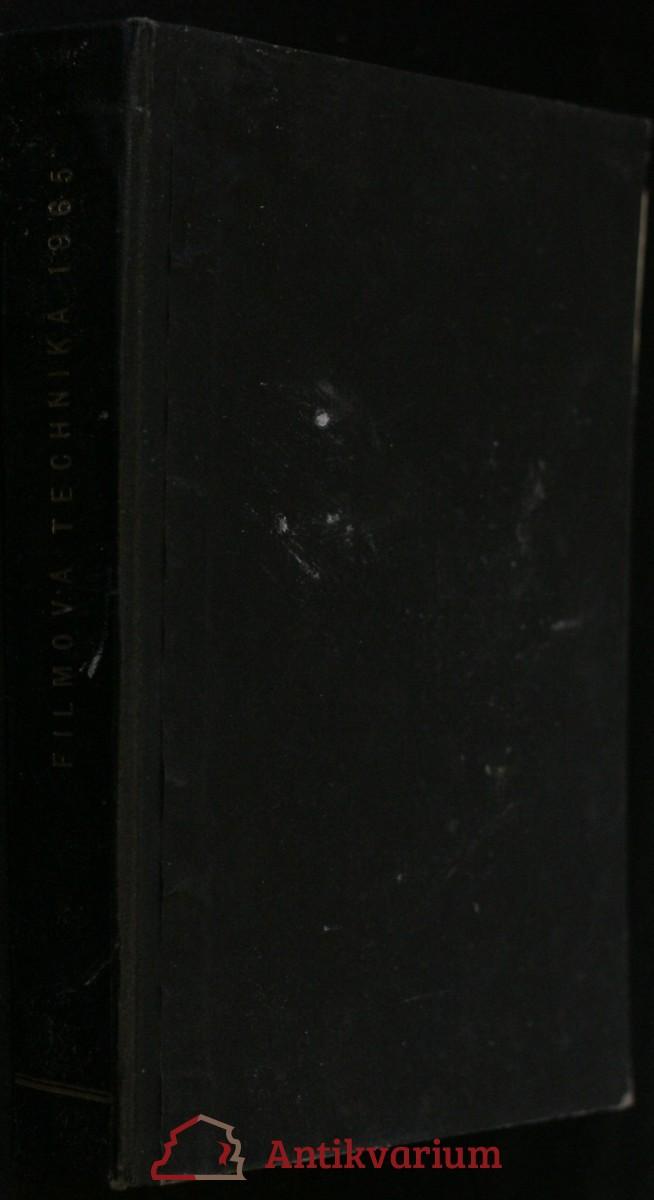 antikvární kniha Filmová technika 1965, 1965