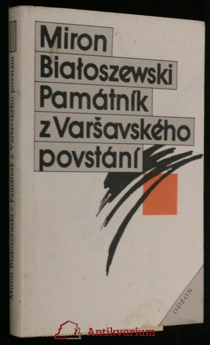 antikvární kniha Památník z Varšavského povstání, 1987