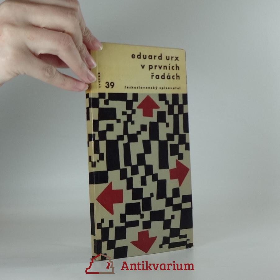 antikvární kniha V prvních řadách, 1962