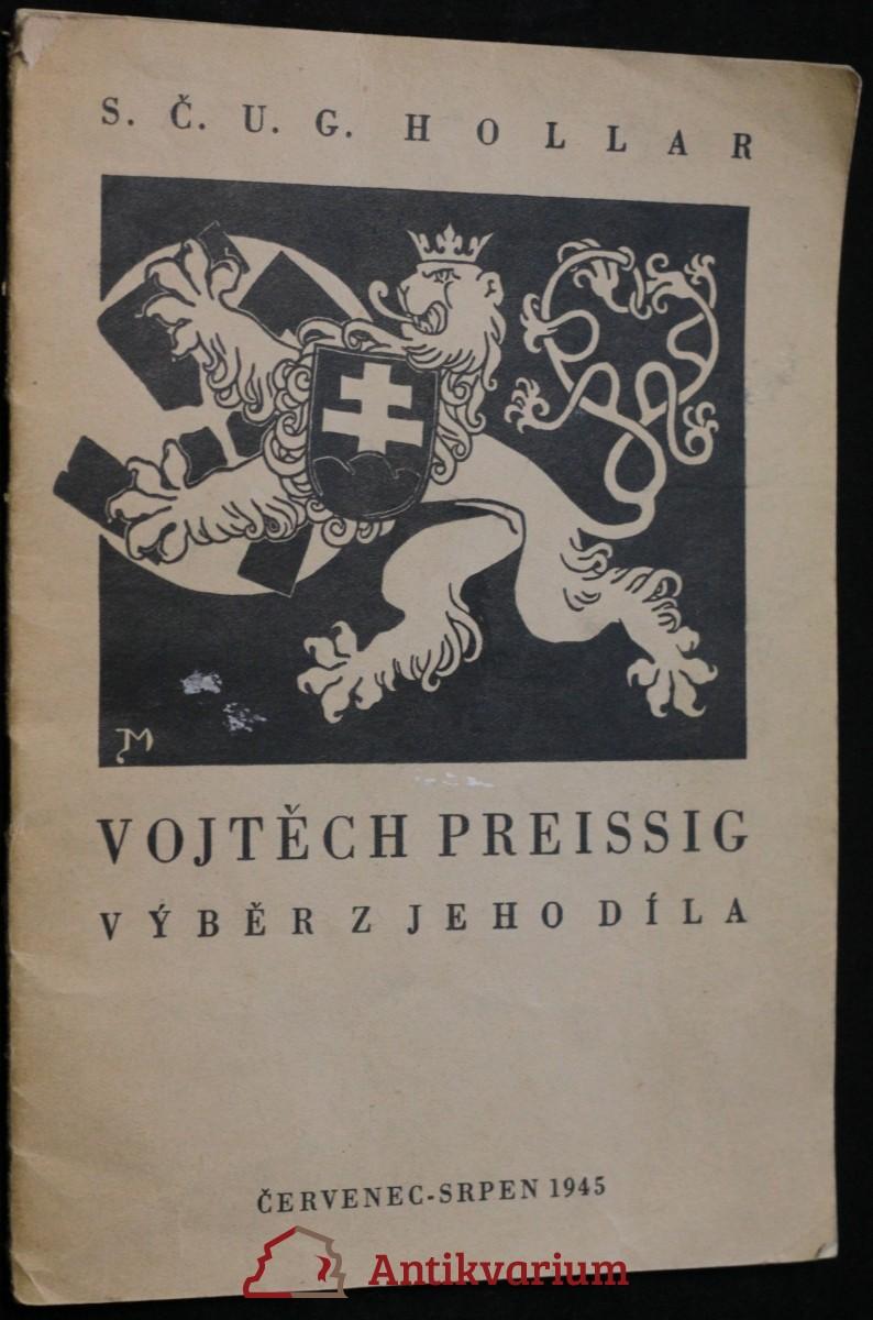 antikvární kniha Vojtěch Preissig, výběr z jeho díla, 1945