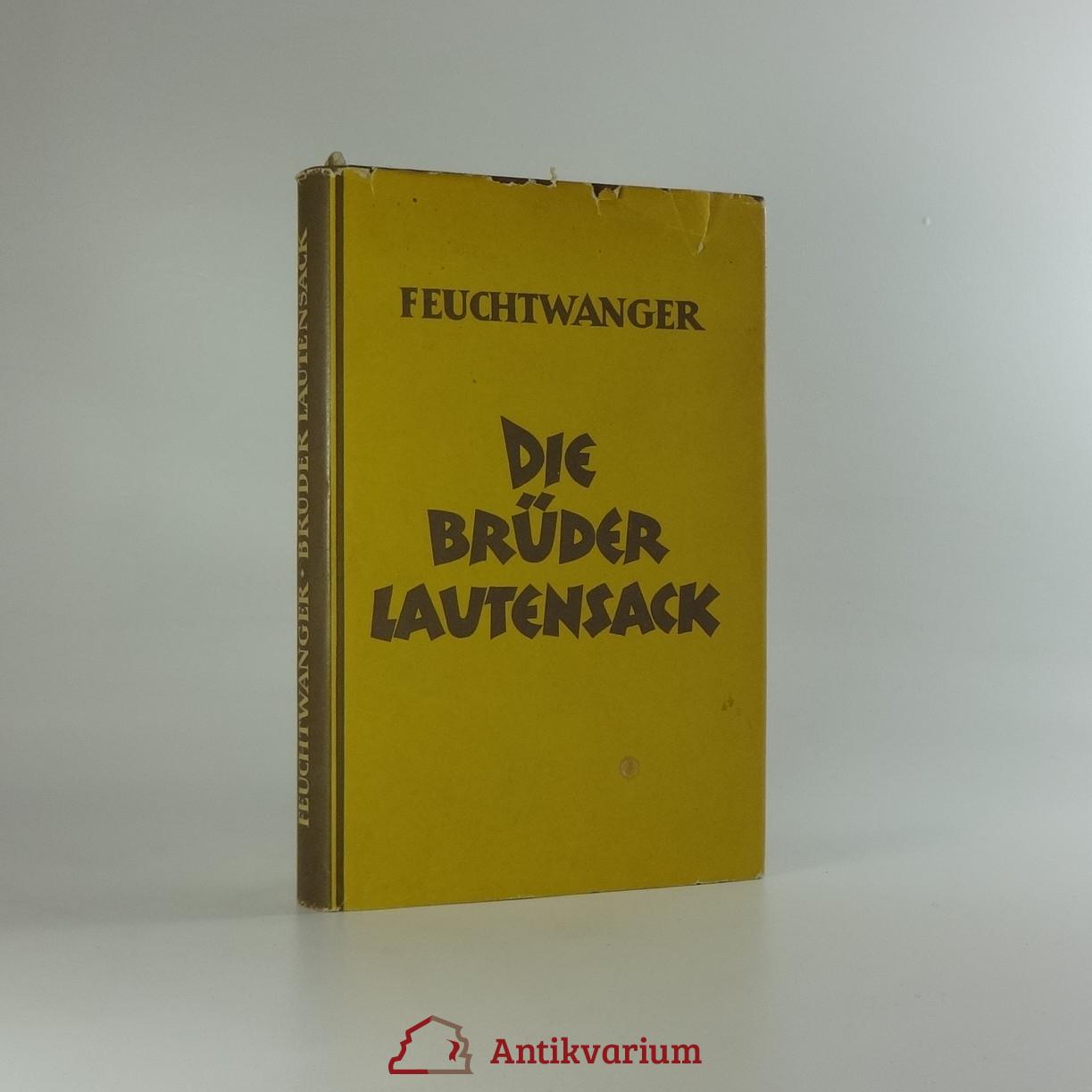 antikvární kniha Die Brüder Lautensack , 1956