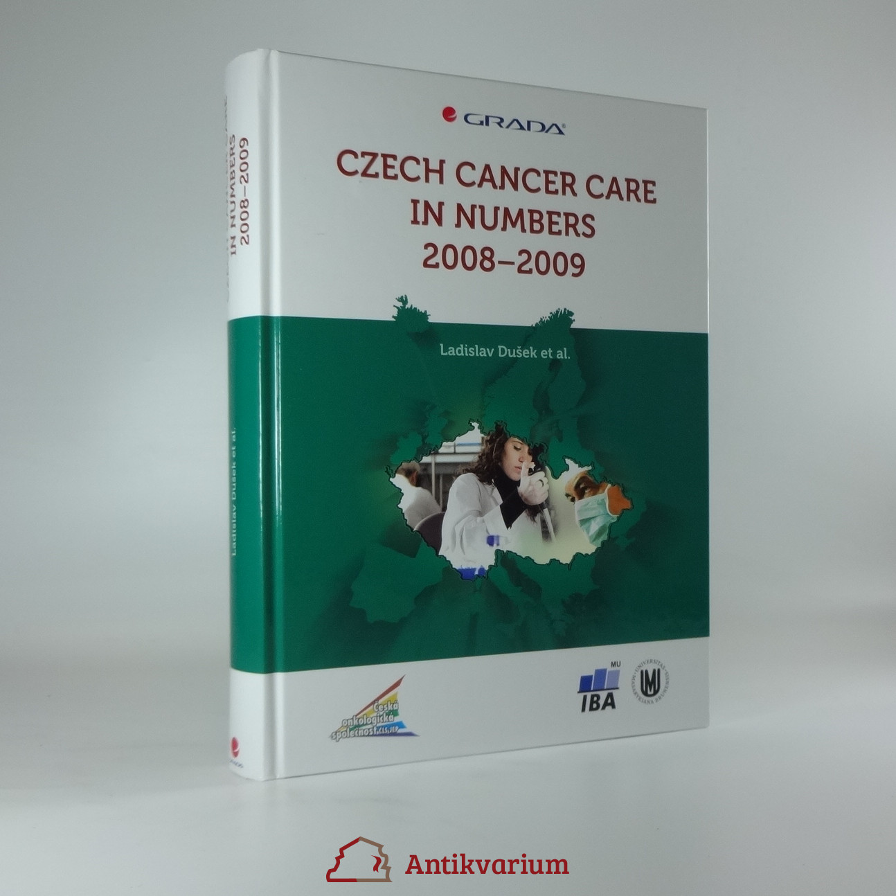 antikvární kniha Czech cancer care in numbers 2008-2009, 2009