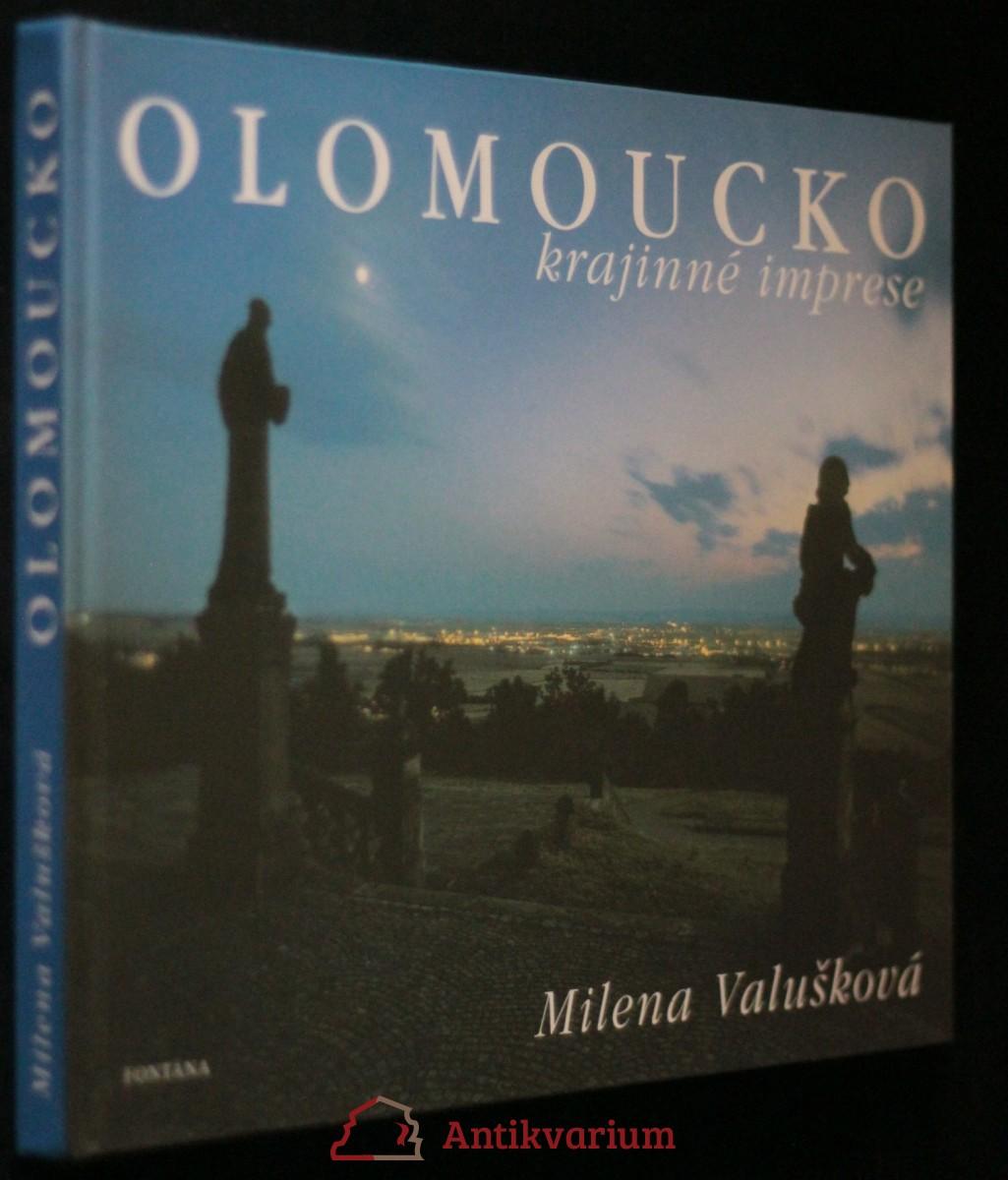 antikvární kniha Olomoucko : krajinné imprese, c2005