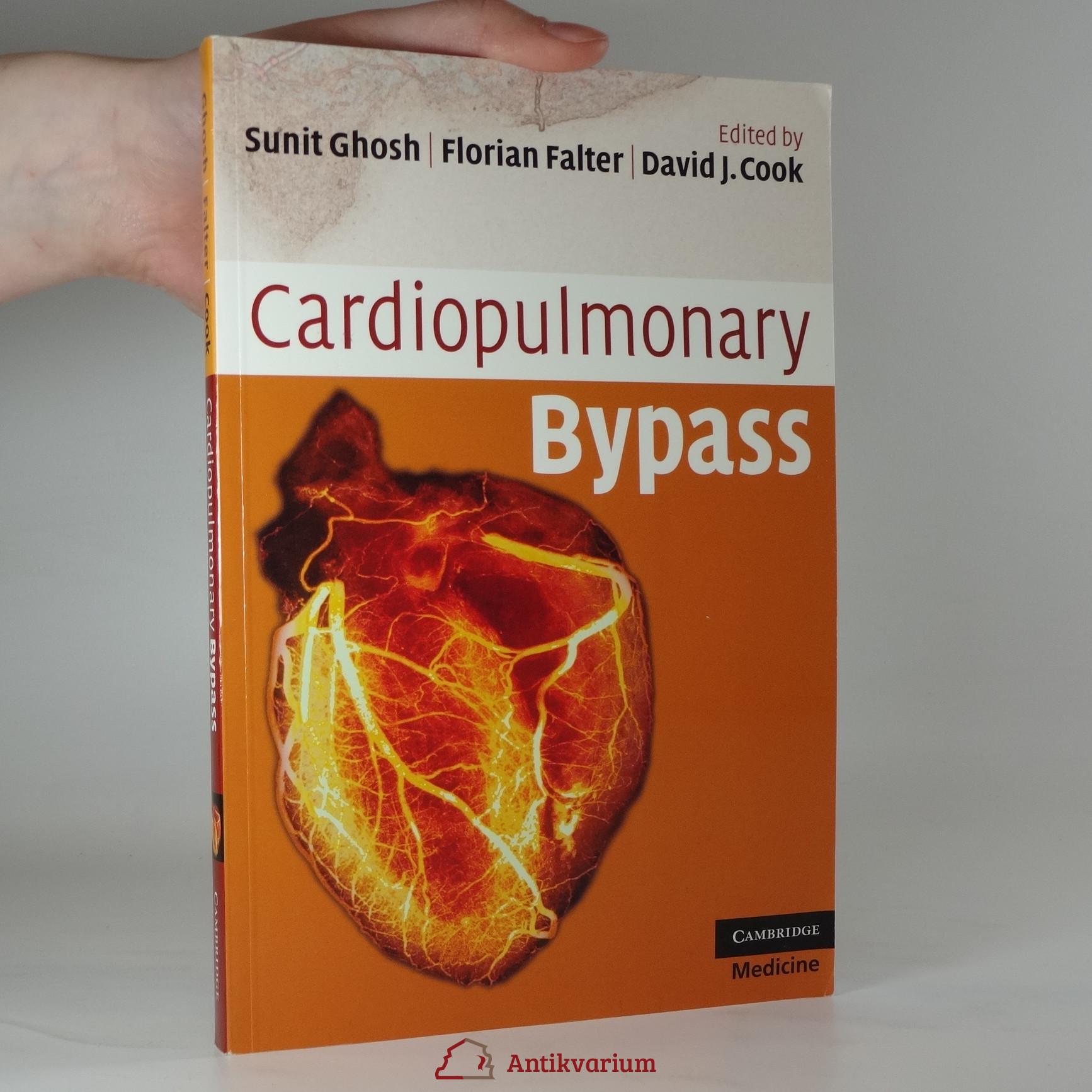 antikvární kniha Cardiopulmonary Bypass, 2009