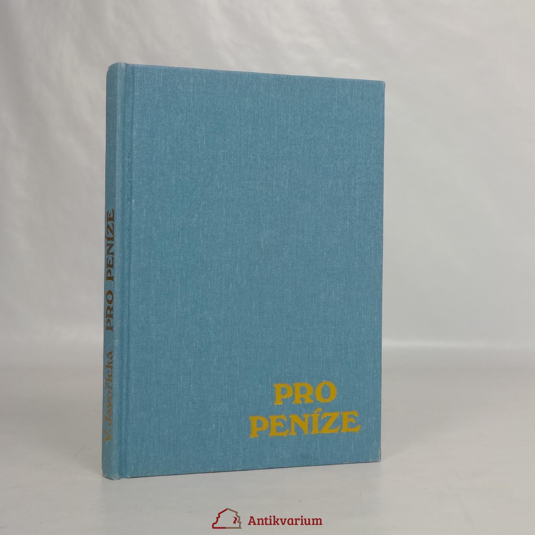 antikvární kniha Pro peníze, 1992