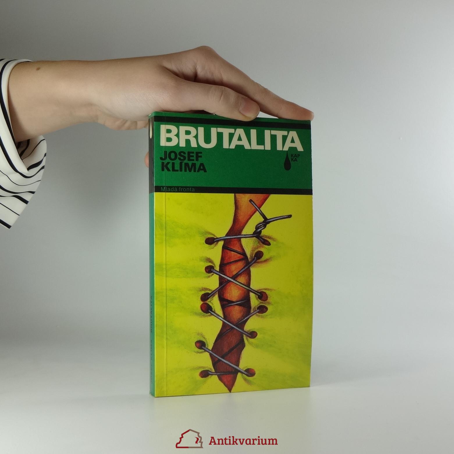 antikvární kniha Brutalita, 1990