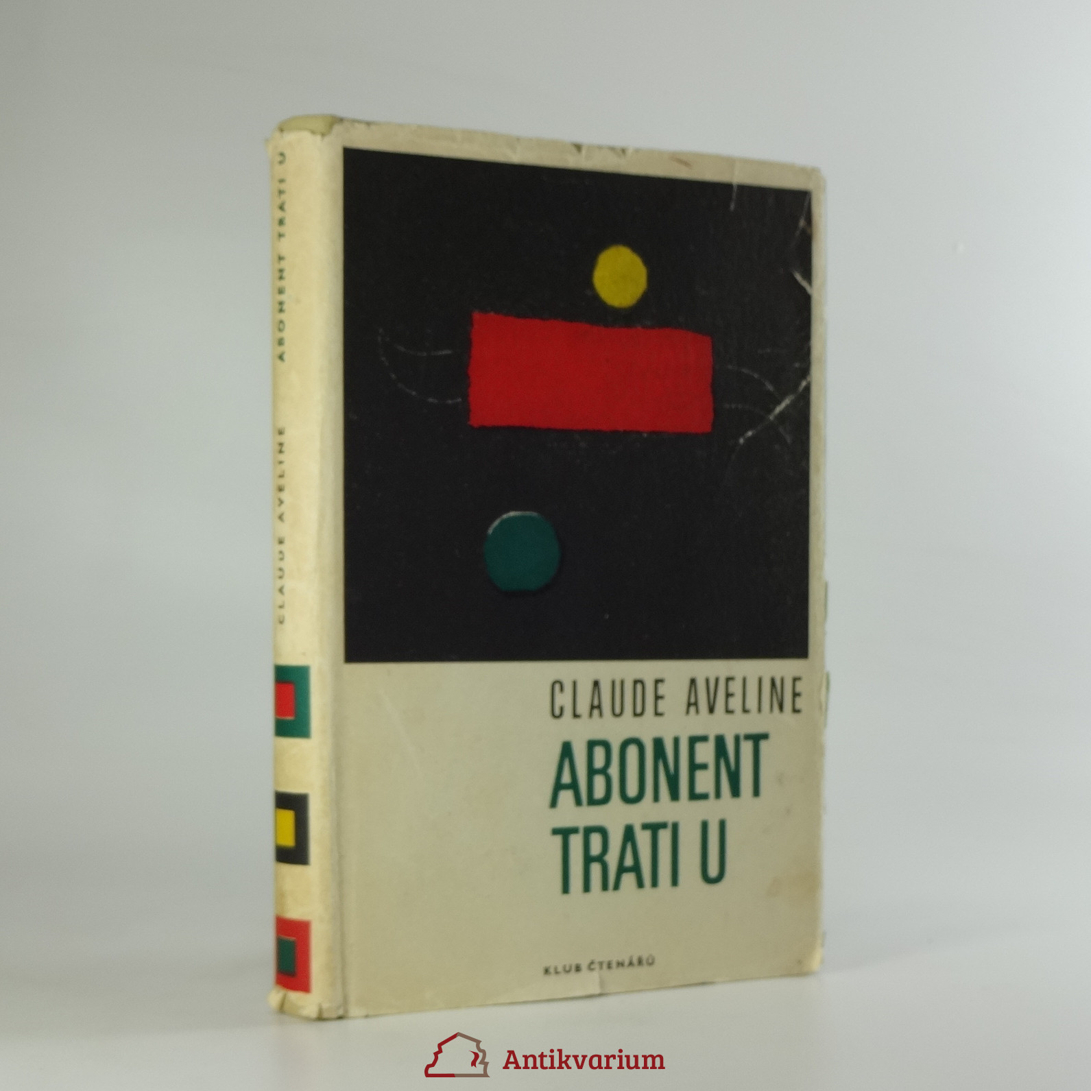 antikvární kniha Abonent trati U, 1968