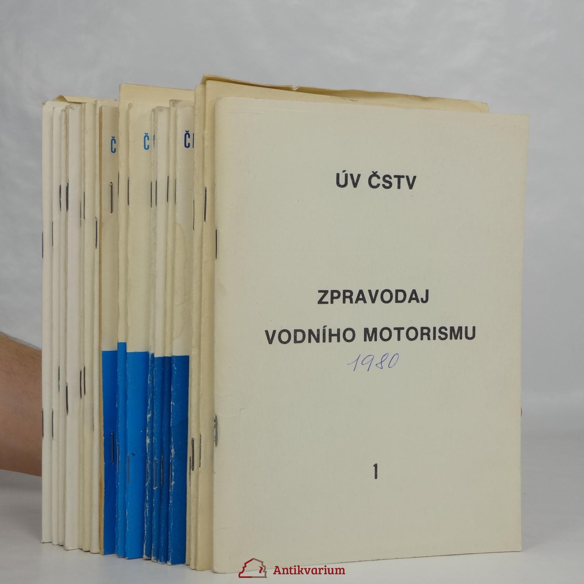antikvární kniha Zpravodaj vodního motorismu 1980, 1982, 1983, 1984, 1985, neuveden