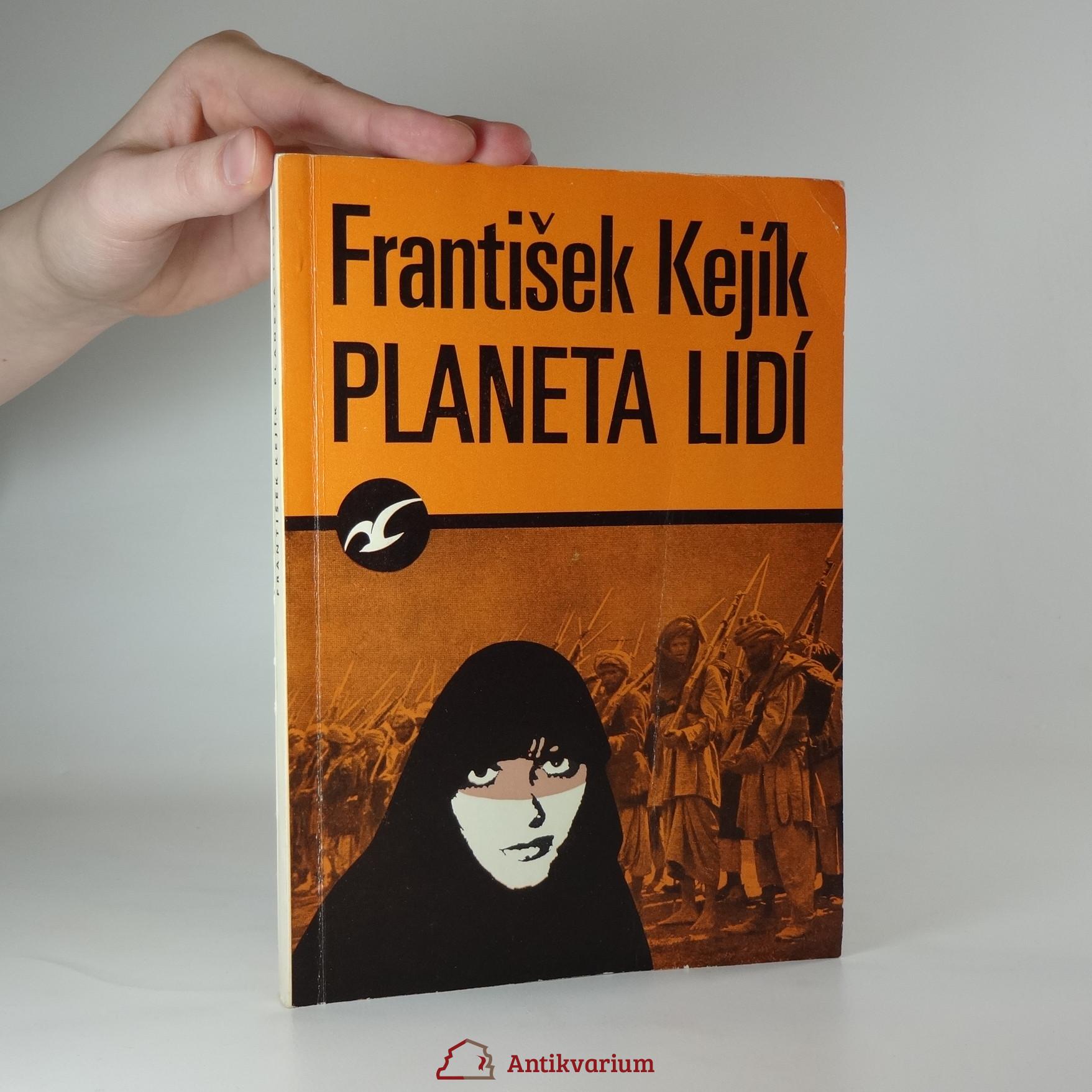 antikvární kniha Planeta lidí, 1971