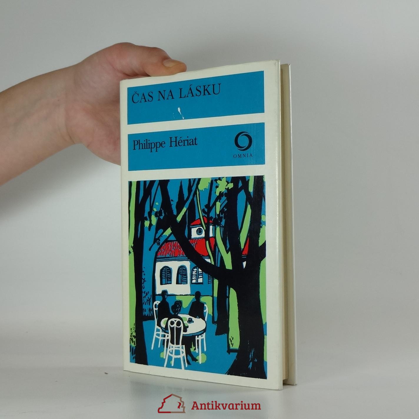 antikvární kniha Čas na lásku, 1979