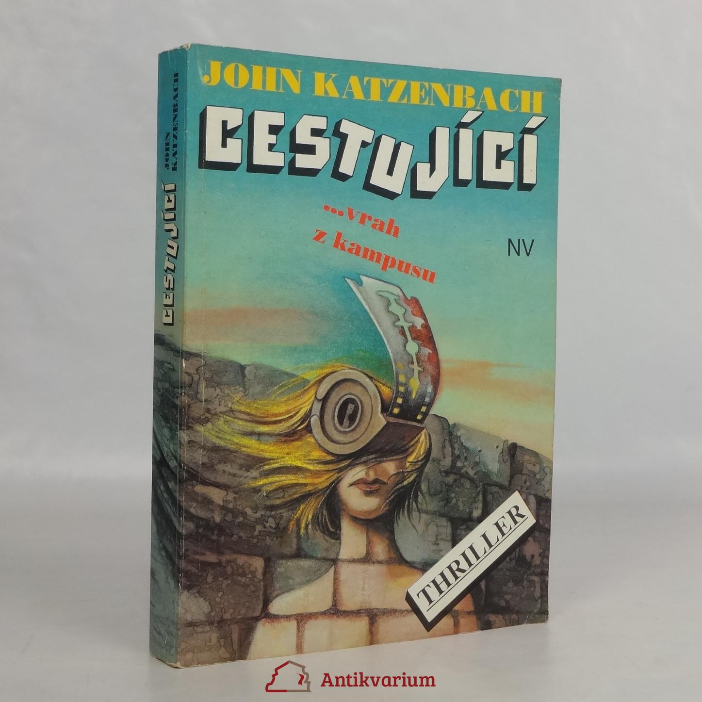 antikvární kniha Cestující: ...vrah z kampusu, 1992