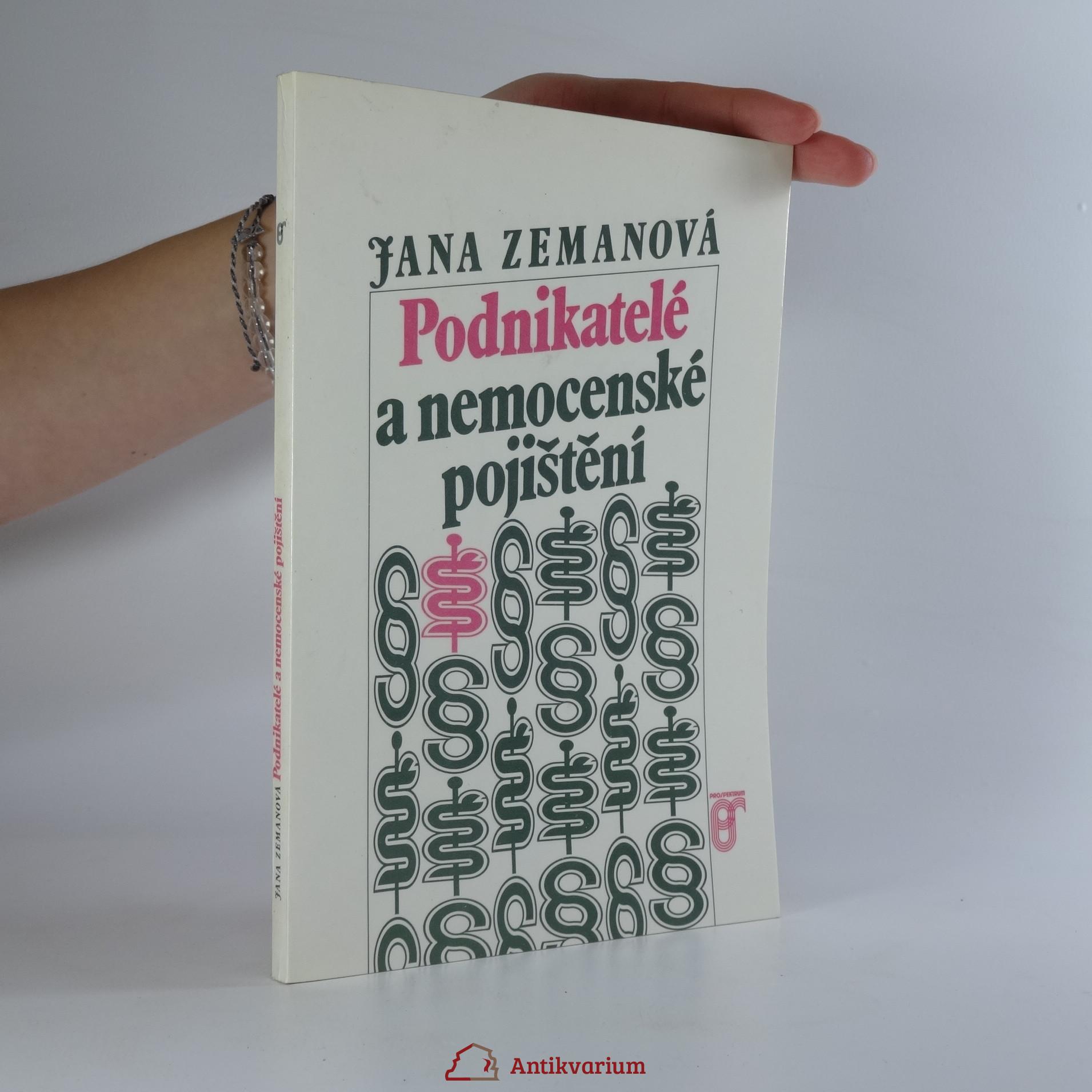 antikvární kniha Podnikatelé a nemocenské pojištění, 1992