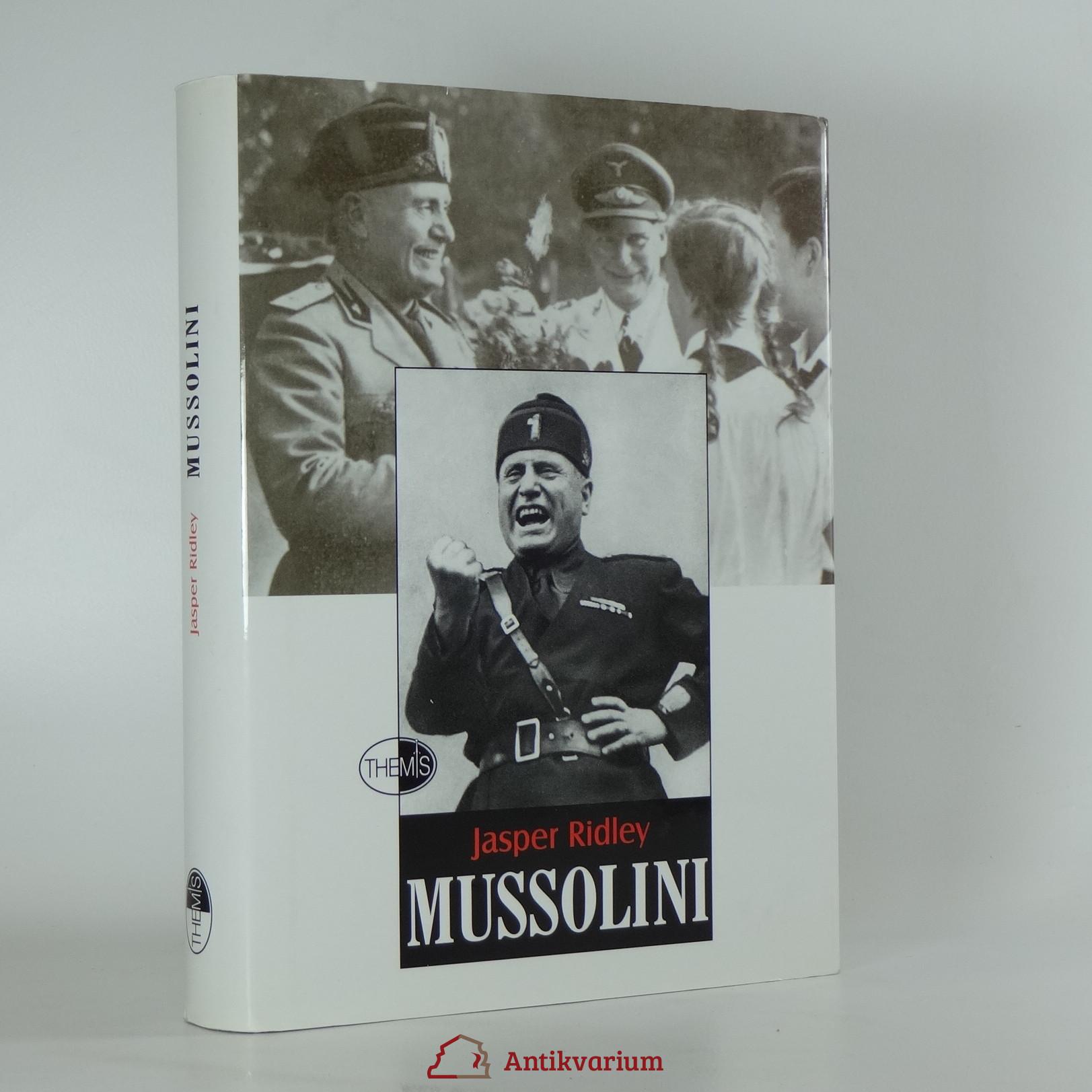 antikvární kniha Mussolini, 2002
