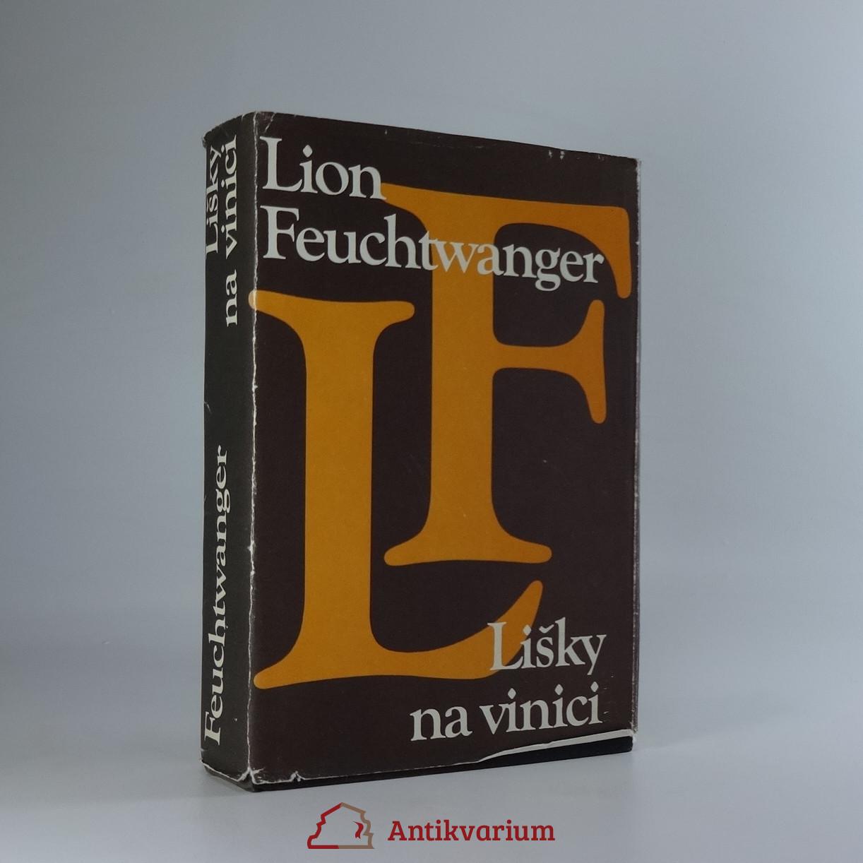 antikvární kniha Lišky na vinici, 1980